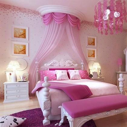 Habitaciones color rosa para ni as dormitorios colores y - Dormitorio de nina ...