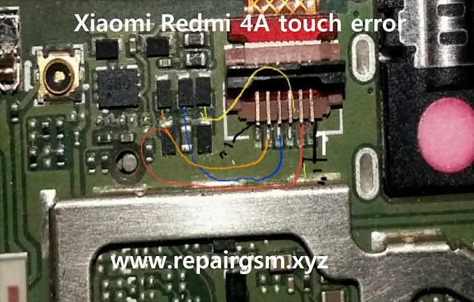 Xiaomi Redmi 4A touch error