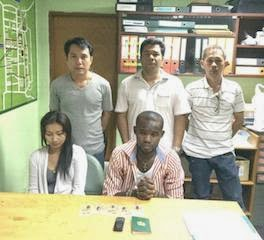 nigerian drug dealer arrested thailand