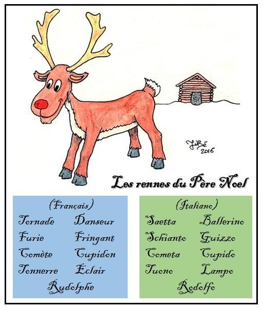Les Renne Du Pere Noel.Comite De Jumelage Dolomieu Agordo Les Rennes Du Pere