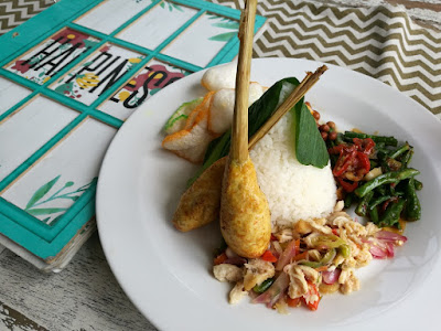 Nasi Bali Happiness enak