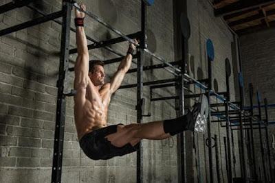 Tư thế tập xà đơn cho cơ bụng 6 múi hiệu quả
