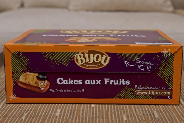Cakes aux Fruits Bijou