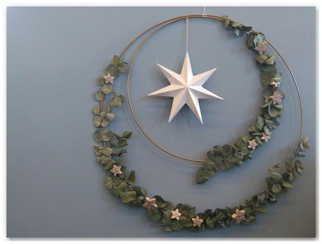 couronne de Noël végétale Marie-Claire idées
