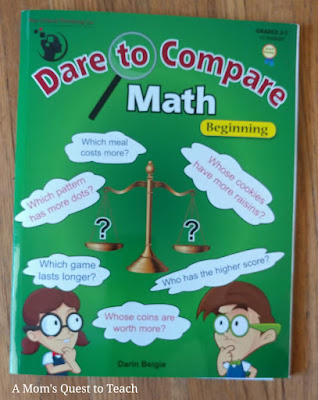 Dare to Compare Math: Beginnings book cover