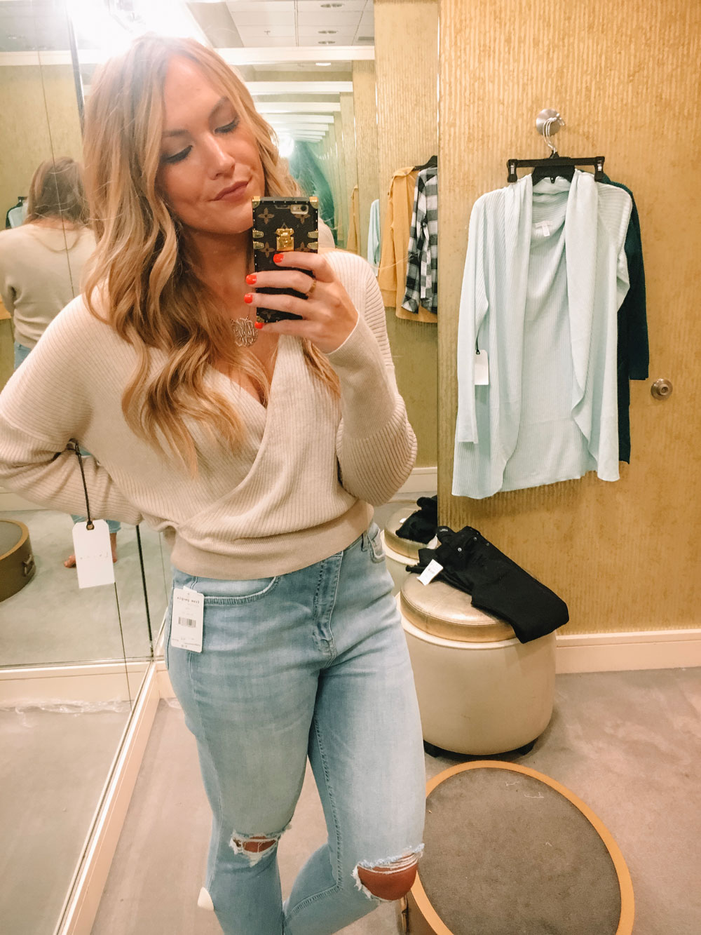 Nordstrom Anniversary Sale Leith Wrap Sweater