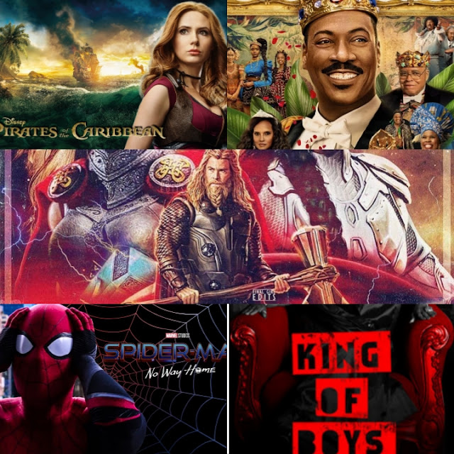 2021 Top 10 movies
