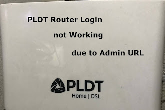 PLDT Router Login Not Working due to Admin URL