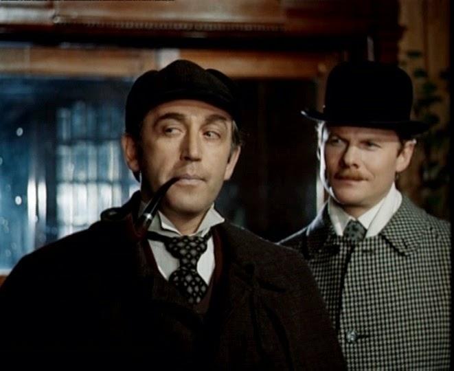 Russian Sherlock Holmes and John Watson Vasily Livanov and Vitaly Solomin