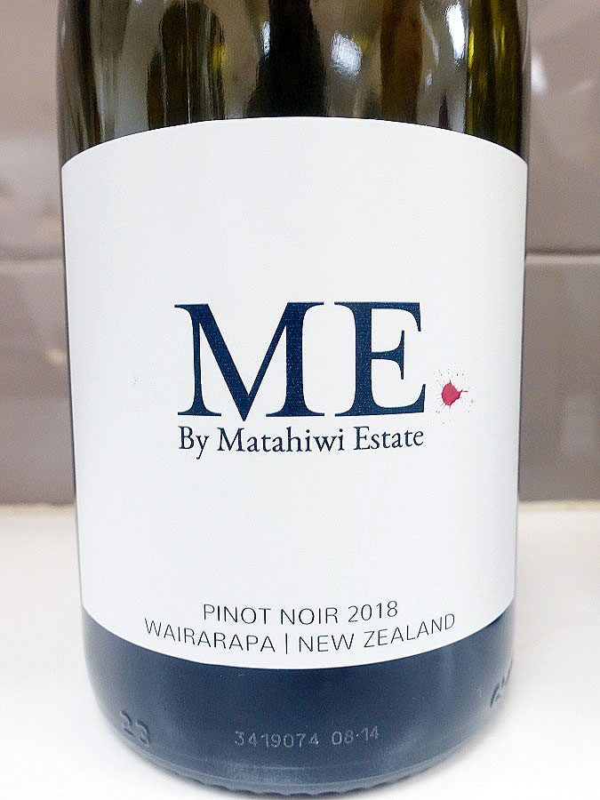 Matahiwi Estate Me Pinot Noir 2018 (88+ pts)