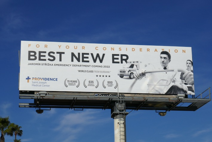 For consideration Best new ER Providence billboard