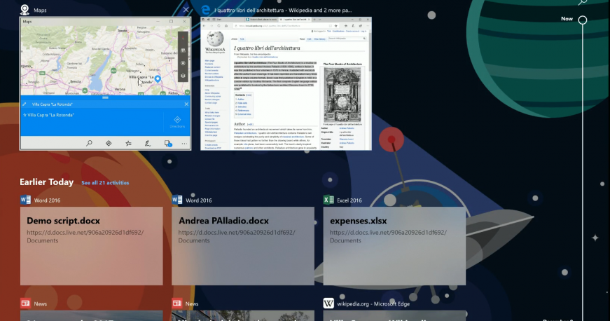 Qui c'è la Timeline di Windows 10 | Video
