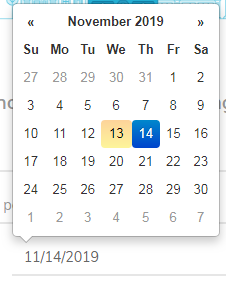 How to use bootstrap datepicker