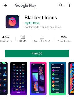 Bladient Icons (MOD, Paid)