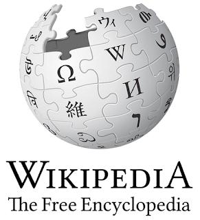 ウィキペディアのロゴ…ジグソーパズルのように組み立てられた球体の上部が未完成