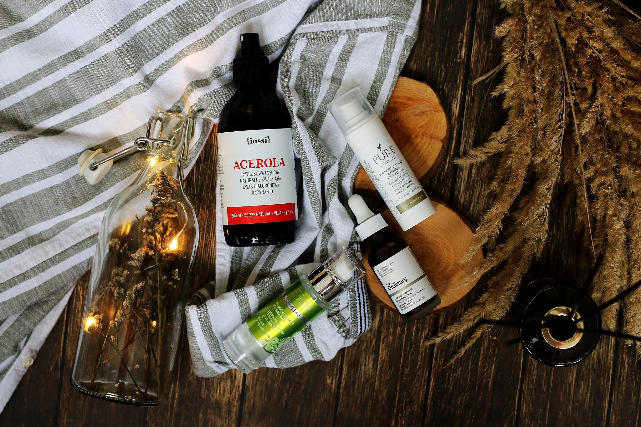 Kosmetyki z kwasami na okres jesienno zimowy