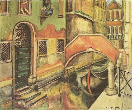 Veneza (canaleta) - Anita Malfatti e suas principais pinturas ~ Pintora brasileira