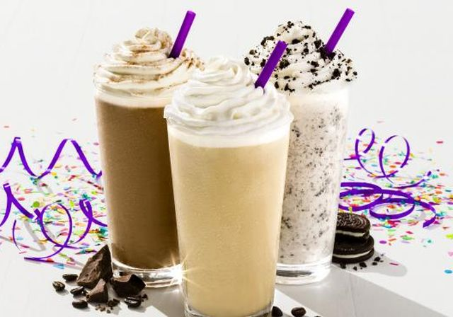 Coffee Bean And Tea Leaf Ice Blended Drinks