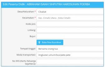Penambahan Kolom lintang dan Bujur Pada Peserta Didik Di Aplikasi Dapodik 2018b