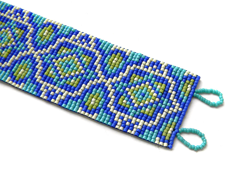 seed bead jewelry beaded bracelet loom beadwork anabel 27