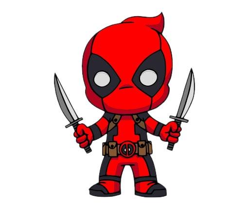 Deadpool Cartoon