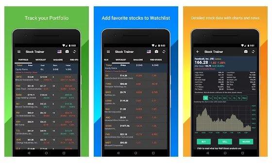 تطبيقات اندرويد لتعلم أساسيات سوق الأسهم (للمبتدئين)