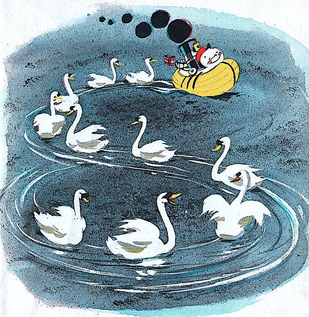 a Hardie Gramatky 1964 children's book illustration of 'Toot' the tugboat
