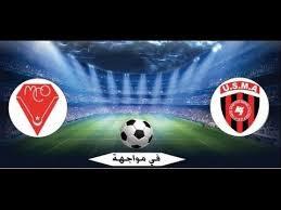 مباراة مولودية وهران اتحاد الجزائر