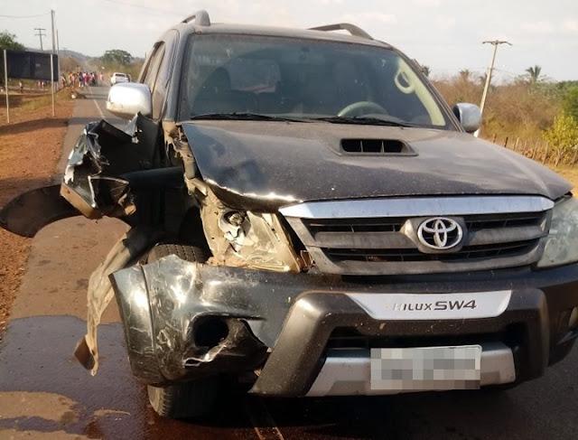 Jovens morrem em acidente na MA-020, entre Vargem Grande e Coroatá