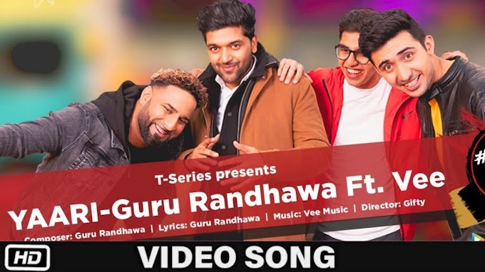 Yaari Lyrics in Hindi - Guru Randhawa (Happy New Year)