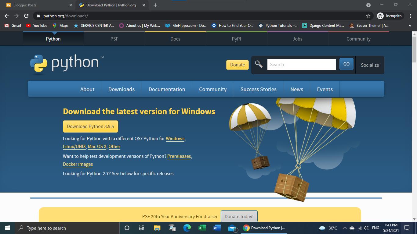 Cara Instal Python 3.9.5 di Windows 10