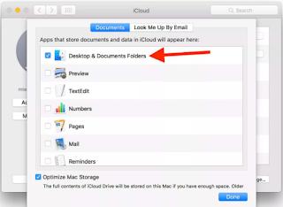 Sync MacBook Folders to iCloud