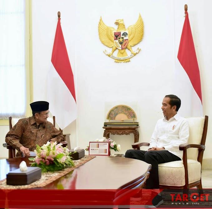 Usai Bertemu Presiden Jokowi, Habibie Tegaskan Persatuan Bangsa Tak Bisa Ditawar