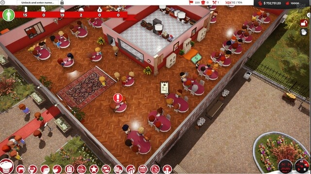 Chef A Restaurant Tycoon Game Gameplay Image