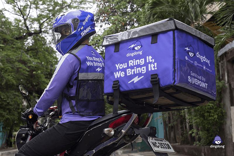 Dingdong Delivery Rider
