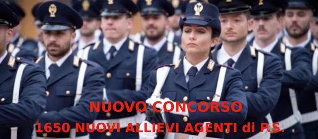 concorso per 1650 agenti P.S.