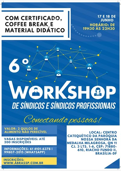 Workshop de Síndicos e Síndicos Profissionais no Riacho Fundo 2