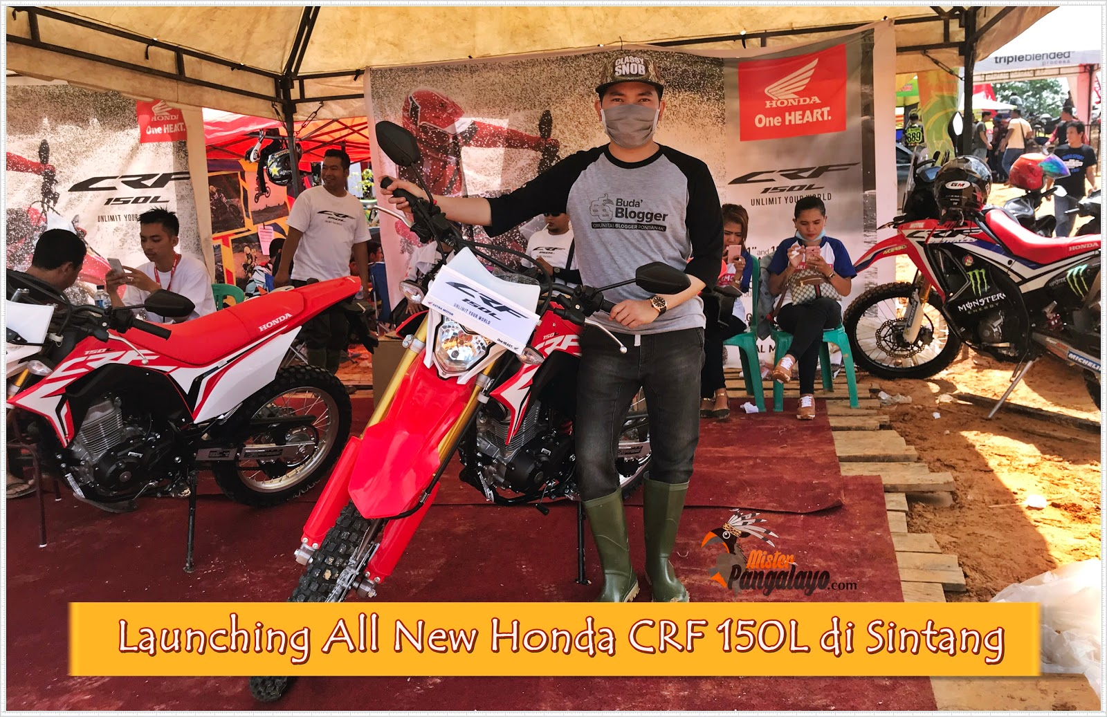 Astra Motor Pontianak Launching All New Honda CRF 150L di Sintang