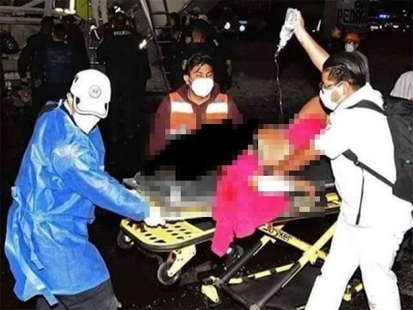 HEROE: Enfermero regresaba a casa cuando ocurrió lo del Metro; ayudó a salvar personas