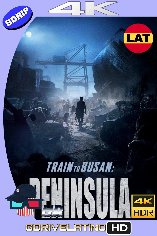 Estación Zombie 2: Península (2020) BDRip 4K HDR Latino-Ingles MKV