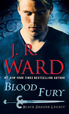 Book Review: Blood Fury (Black Dagger Legacy #3) by J. R. Ward