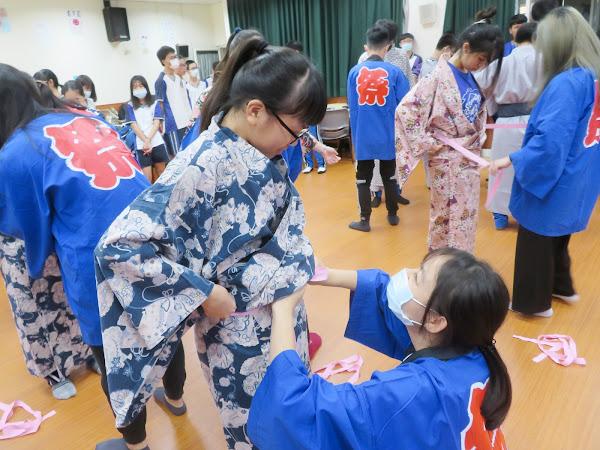 大葉大學生大手攜小手 溪湖高中學生體驗日本文化