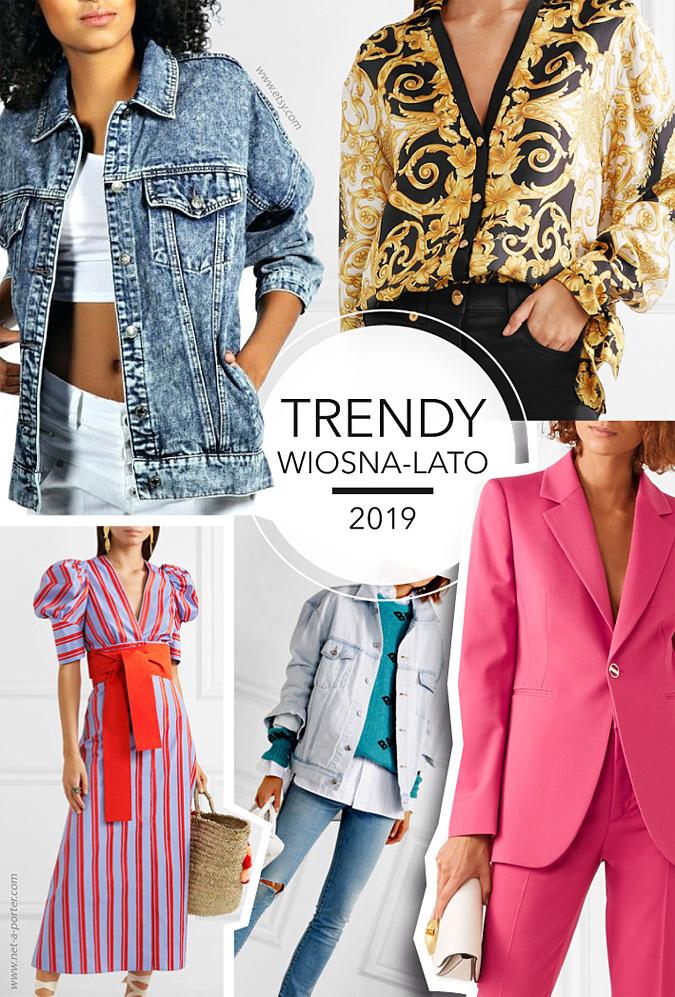 Trendy wiosna-lato 2019
