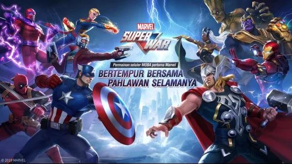 Marvel Super War : MOBA Superhero, Mobile Legends Lewat?