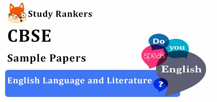CBSE Sample Papers for Class 10 English 2020-21