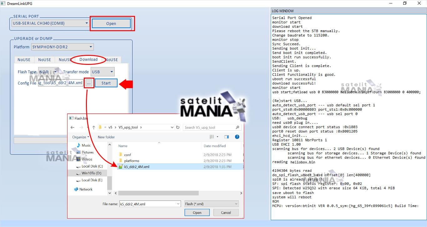 Cara Flashing Firmware Receiver Hellobox V5 HD