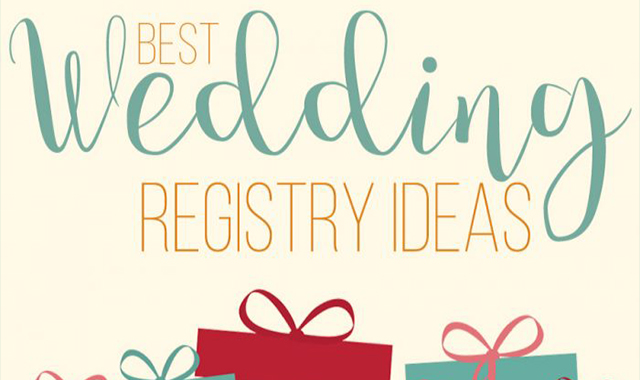 120 Best Wedding Registry Ideas 2019 #infographic