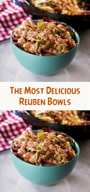 The Most Delicious Reuben Bowls