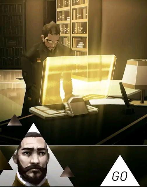 تحميل لعبة المدفوعة Deus Ex Go مجانا للاندرويد اخر اصدار من ميديا فاير