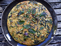 RAINBOW CHARD POTATO FRITTATA